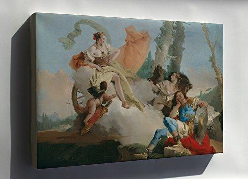 Canvas 24x36; Giovanni Battista Tiepolo Rinaldo Enchanted By Armida (Rinaldo Enchanted By Armida Giovanni Battista Tiepolo)