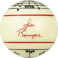 "Aramith 2-1/4"" Regulation Size Billiard/Pool Ball: Jim Rempe Training Cue Ball with Instruction Manual"