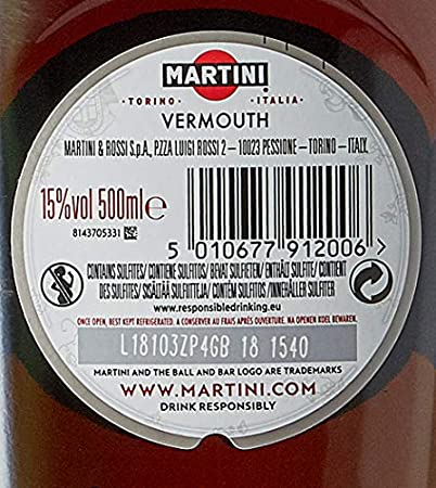 Martini Vermouth Rosso - 500 ml