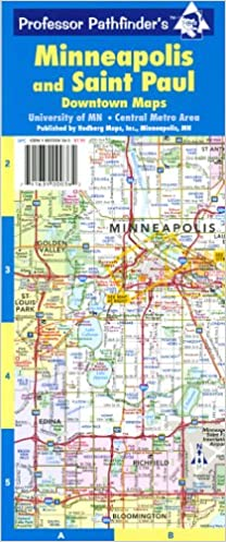 Minneapolis and Saint Paul (Minneapolis & Saint Paul: Downtown Maps ...