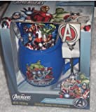MARVEL AVENGERS COCOA & MUG SET Coffee Cup, Spoon & i Pack Of Hot Chocolate Mix