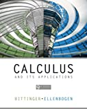 Calculus and Its Applications Value Package, Bittenger and Bittinger, Marvin L., 0321518861