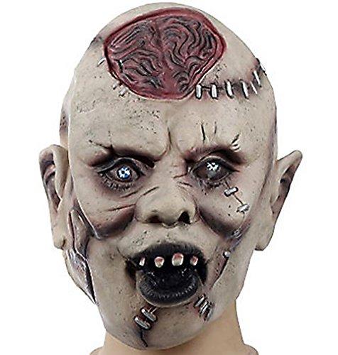 Predator Halloween Masquerade Party Cosplay Latex Mask 2014 HLWMSK9 ()