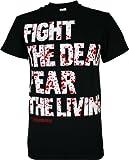 The Walking Dead Fight the Dead Men's T-Shirt, Black, XXX-Large