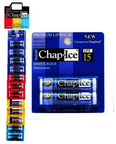 Chap Ice Premium SPF 15 Moisturizer Lip Balm - 2 pk,(OraLabs) by ()