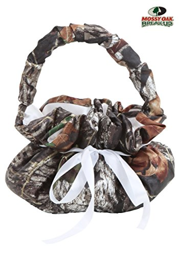 Fun Costumes Girls Mossy Oak Flower Girl Basket (Basket Of Flowers Costume)