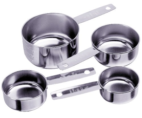 Fork Classic Progressive (Progressive International 4-Piece Stainless Steel Measuring Cup)