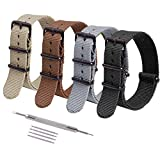 """Product Features: Ideal watch band appearance suitable for both men and women. Width: 18mm, 20mm, 22mm,; fits wrists 5"""" to 7 1/2"""" inches in circumference, and covers most of the watch size on market. Perfect for your Timex weekender luminox seiko rep..."""