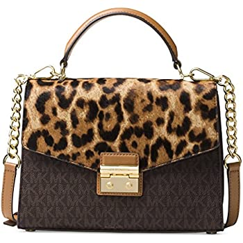 9ac53bc45dda Amazon.com  MICHAEL Michael Kors Sloan Medium Top-Handle Satchel ...