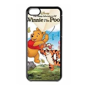 iphone5c Black phone case Disney Cartoon Comic Series The Many Adventures of Winnie the Pooh QBC3069988