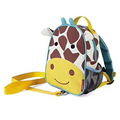 Skip Hop Toddler Leash and Harness Backpack, Zoo Collection, Giraffe