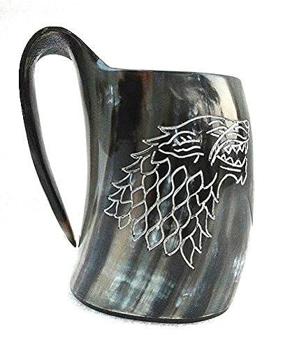 Amazon.com: Vikings Valhena Juego de tronos casa de almuerzo ...
