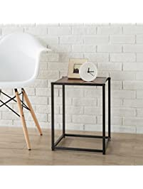 Zinus Modern Studio Collection Classic Cube Side Table / End Table / Night  Stand / Coffee