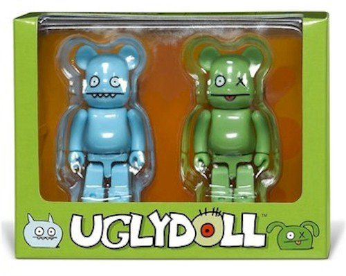 Uglydoll Bearbrick: Ice-Bat & Ox ()