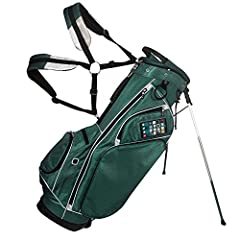 JCR Inc CL 450 Stand Bag 2017 Green/White - is introducing a new light weight innovative stand bag, the CL450, developed to meet the needs of the golfer today. It offers clean lines, internal organization and technology like no other bag. Cle...