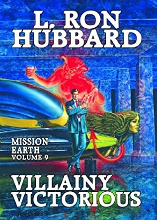 book cover of Villainy Victorious