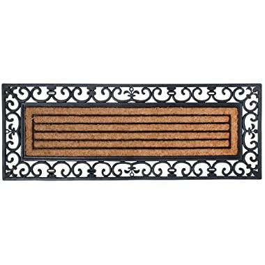 Esschert Design Rubber and Coir Doormat, X-Large