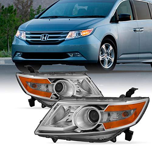 - For Honda Odyssey Left + Right Amber Corner Halogen Headlamps Head Lights Pair 2011 2012 2013 2014 2015
