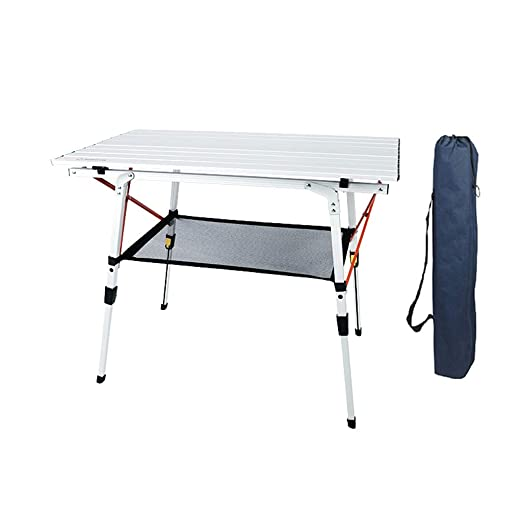 Al Aire Libre Mesa Plegable Cocina Patio Camping Aluminio Ligero ...