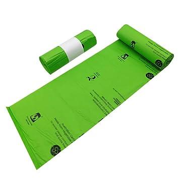 Amazon.com: Bolsas biodegradables 100% compostables a base ...