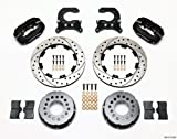 Wilwood 140-2112-BD Rear Disc Brake Kit for 12 Bolt Chevy