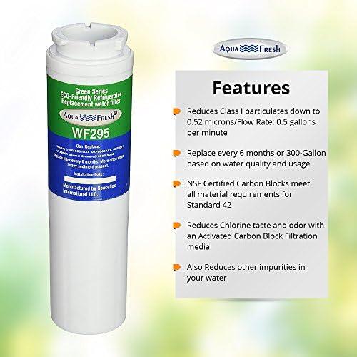 Home Furniture Diy Water Filters Fits Kitchenaid Krff305ebs Refrigerators Aqua Fresh Water Filter 3pk Bortexgroup Com