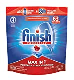 Finish - Max in 1-63ct - Dishwasher Detergent - Powerball - Dishwashing Tablets - Dish Tabs