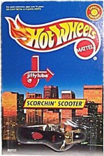 Hot Wheels - Special Edition - Jiffy Lube - Scorchin' Scooter Limited Edition 1:64 Scale Collectible Die Cast Car