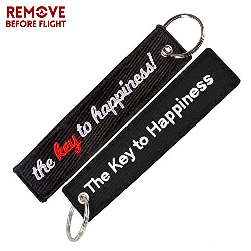 Amazon.com : Key Rings 1PC Fashion Car Key Chain Embroidery ...