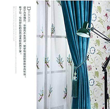 Rideaux Rideaux de Velours Mat Velours h/ôtel Pas la Plaine Rideaux de Couleurs W400*L270CM Rouge 1PC