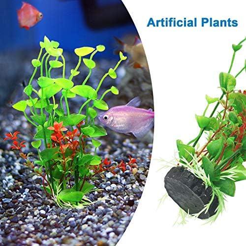 Plantas artificiales para decoraciones para acuarios 5