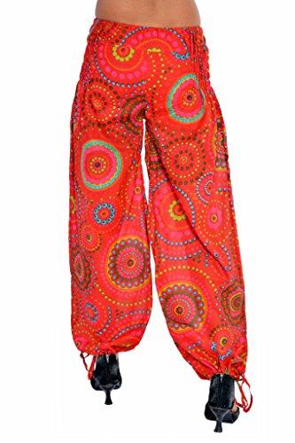 Jaipur Kala Kendra - Salwar - para mujer Rosso