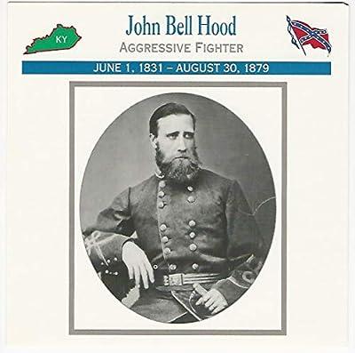 1995 Atlas, Civil War Cards, 111.13 General John Bell Hood, Kentucky