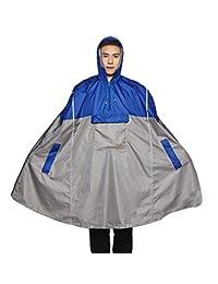 Liveinu Adult Rain Poncho Unisex Emergency Rainwear With Matching Pouch