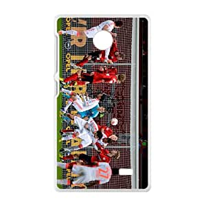 New Style Custom Picture Bundesliga Pattern Hight Quality Protective Case for Nokia Lumia x