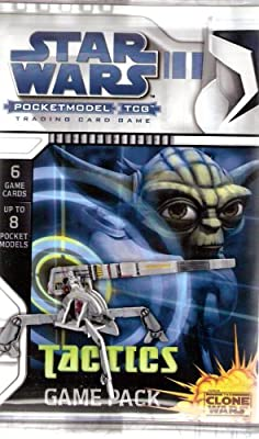 Star Wars The Clone Wars Pocketmodel Trading Card Game (Tactics Game Pack)