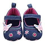 Susenstone Fashion Baby Shoes Butterfly Soft Sole Toddler Shoes