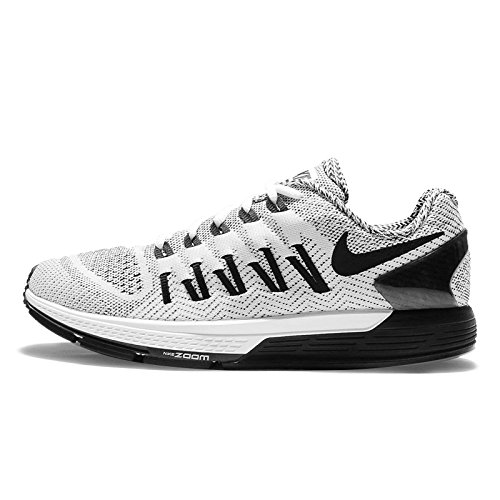 Nike Women Wmns Air Zoom Odyssey, BLACK/WHITE-SAIL-HYPER ORANGE White/Black