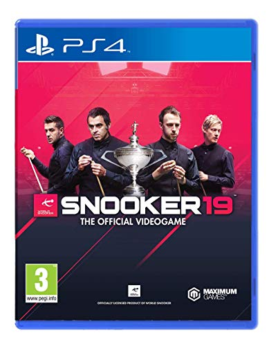 Snooker 19 – The Official Video Game – PlayStation 4 (PS4)
