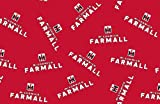 Farmall All Over Logo Fleece Throw Blanket