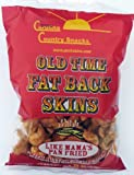 Old Time Fat Back Skins Chicharron Red Pepper 36 bags (3.5 oz)