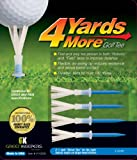 4 Yards More Reduced Friction Golf Tee; 1-3/4