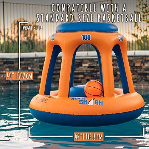Amazon.com: Aro de baloncesto para piscina, de Hoop Shark ...