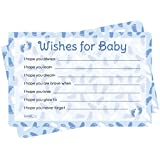 Wishes For Baby Cards - Blue Boy Baby Shower Theme (...