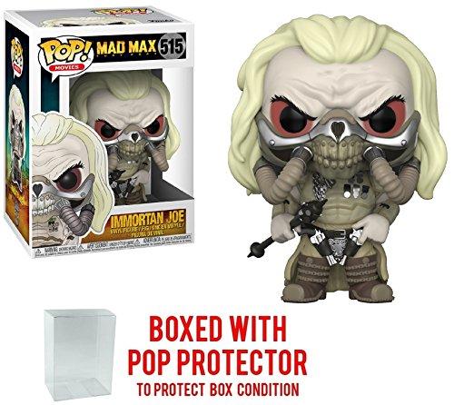 Funko Pop! Movies: Mad Max Fury Road - Immortan Joe Vinyl Figure (Bundled with Pop BOX PROTECTOR CASE)
