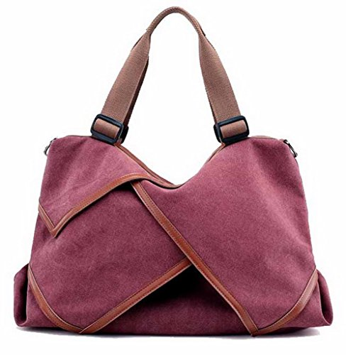 Women Crossed Burgundy Casual Travel Zips Handbags Bags Ccaybp180725 Voguezone009 4wgOxdqO