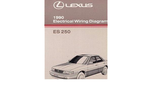 Lexus 1990 Electrical Wiring Diagram Es 250 Toyota Motor Pany. Lexus 1990 Electrical Wiring Diagram Es 250 Toyota Motor Pany Amazon Books. Lexus. Electrical Wiring Diagram Lexus Is 250 At Scoala.co