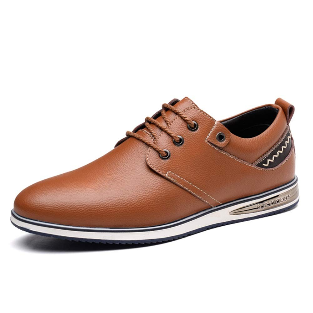 Bspringaaaa JILUN -skor Män's Simple mode Oxford Four Seasons Style Simple Laces Comfortable Casual skor