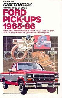 1971 ford truck shop manual ford motor company david e leblanc rh amazon com 1976 Ford F100 1972 ford f100 repair manual