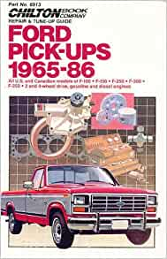 1965 FORD TRUCK SHOP MANUAL 2 BOOK SET; VOLUME 1 AND VOLUMES 2,3 /&4